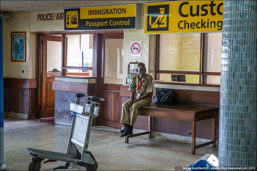 Flight to Zanzibar