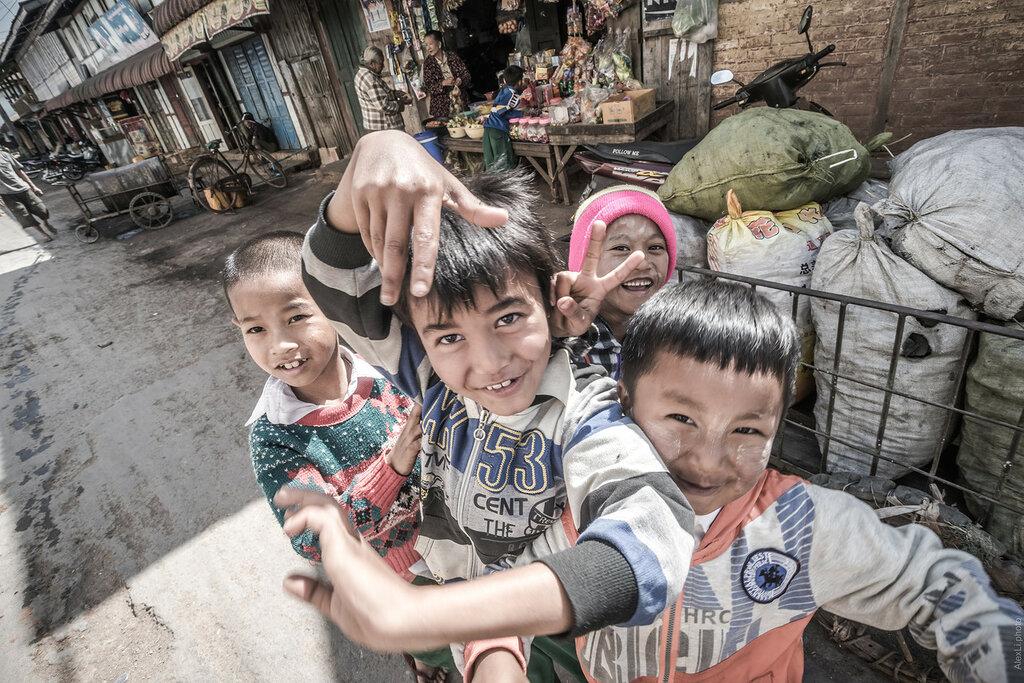 Бирма. Деревня Кало