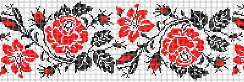 Branchukowa вышивка крестиком