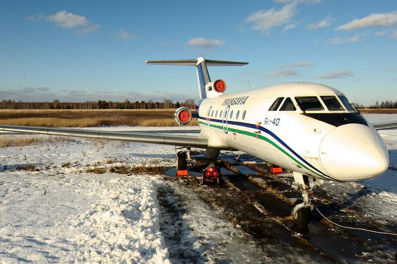 Як-40 RA-87500