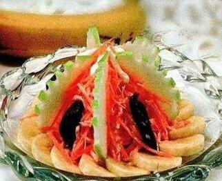 Бананово-морковный салат