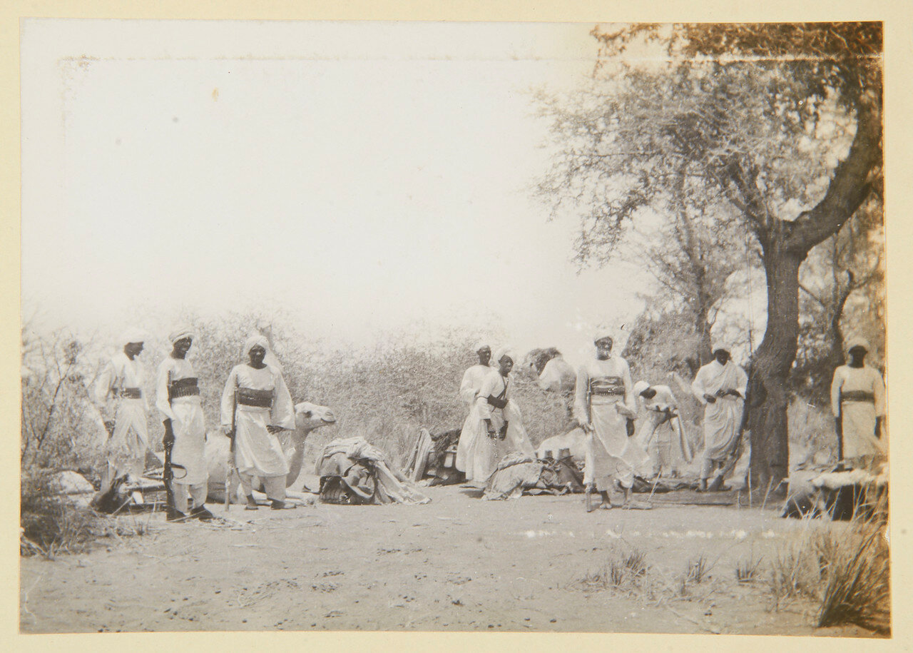 Август 1898. Вожди джалинов