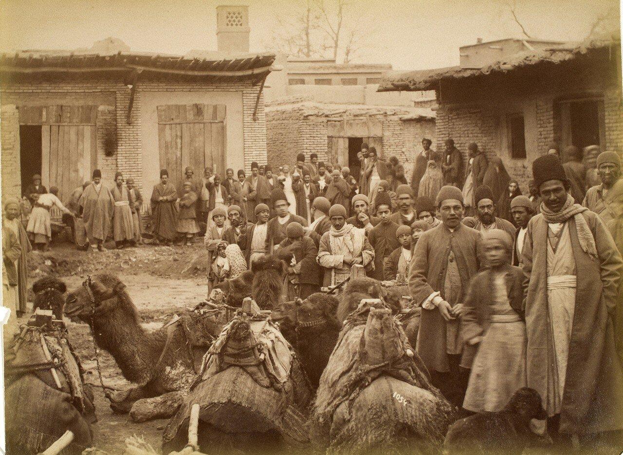 Еврейский квартал в Тегеране