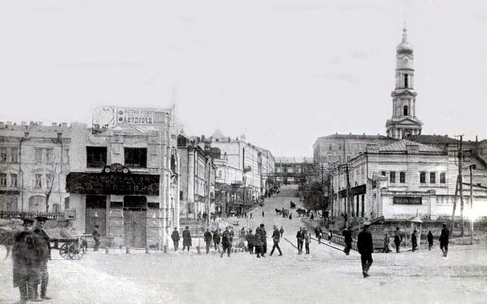 Вид на Пащенковский спуск с Соборной площади