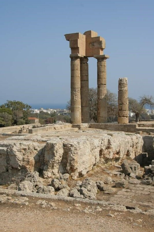 Храм Аполлона Пифийского на Родосе