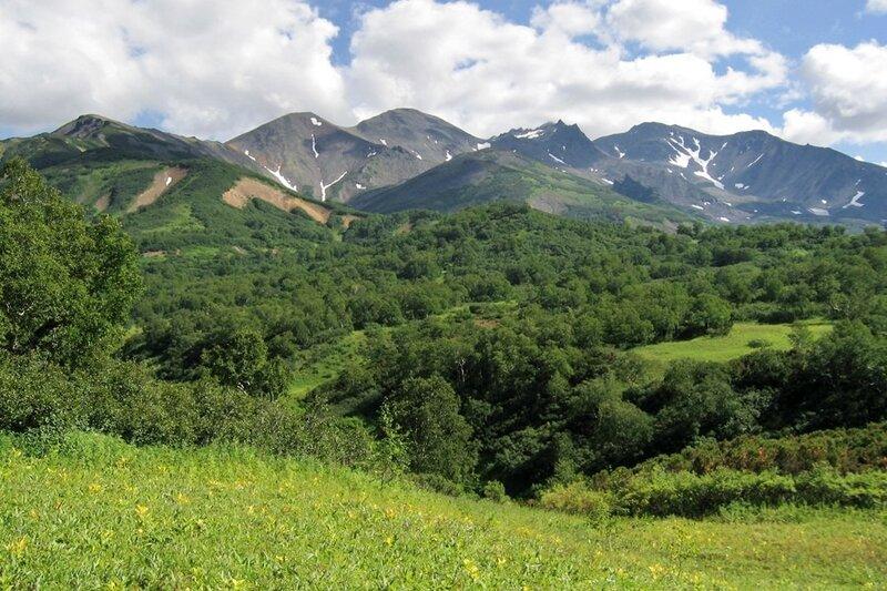 Пиначевская долина, Камчатка