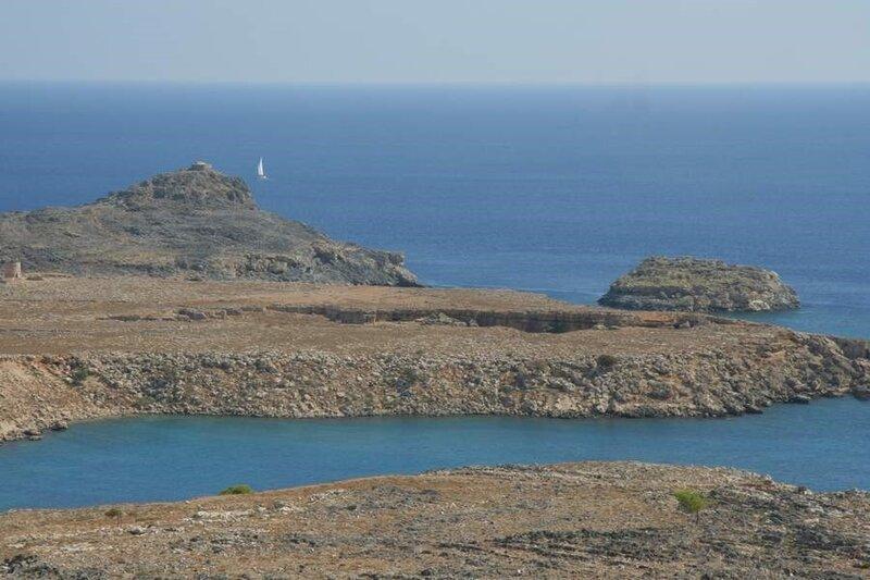Средиземное море близ города Линд