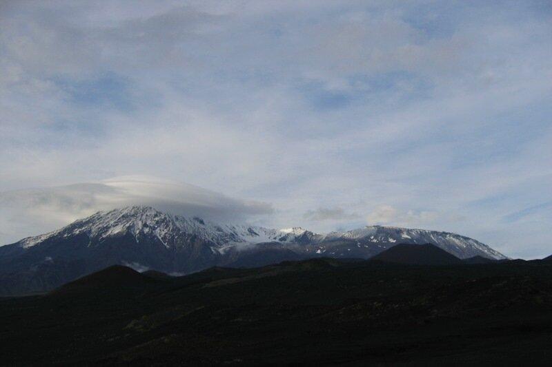 Камчатка, Острый Толбачик, Плоский Толбачик, вулканы