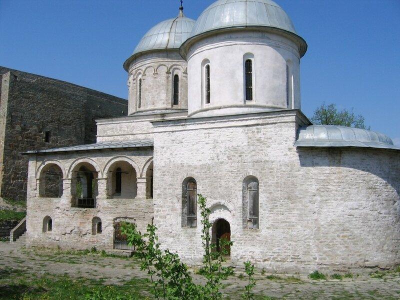 Церковь Успения Пресвятой Богородицы в Ивангороде