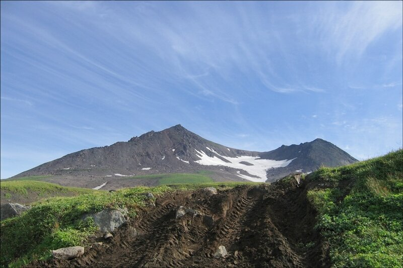 Камчатка, вулканы