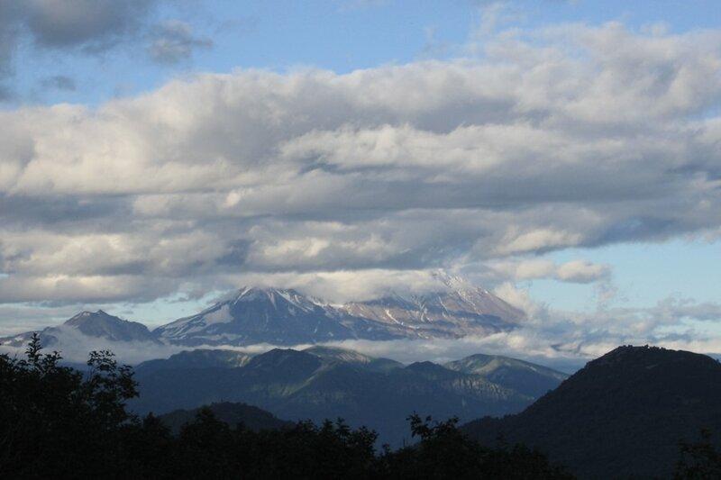 Жупановский вулкан, Камчатка