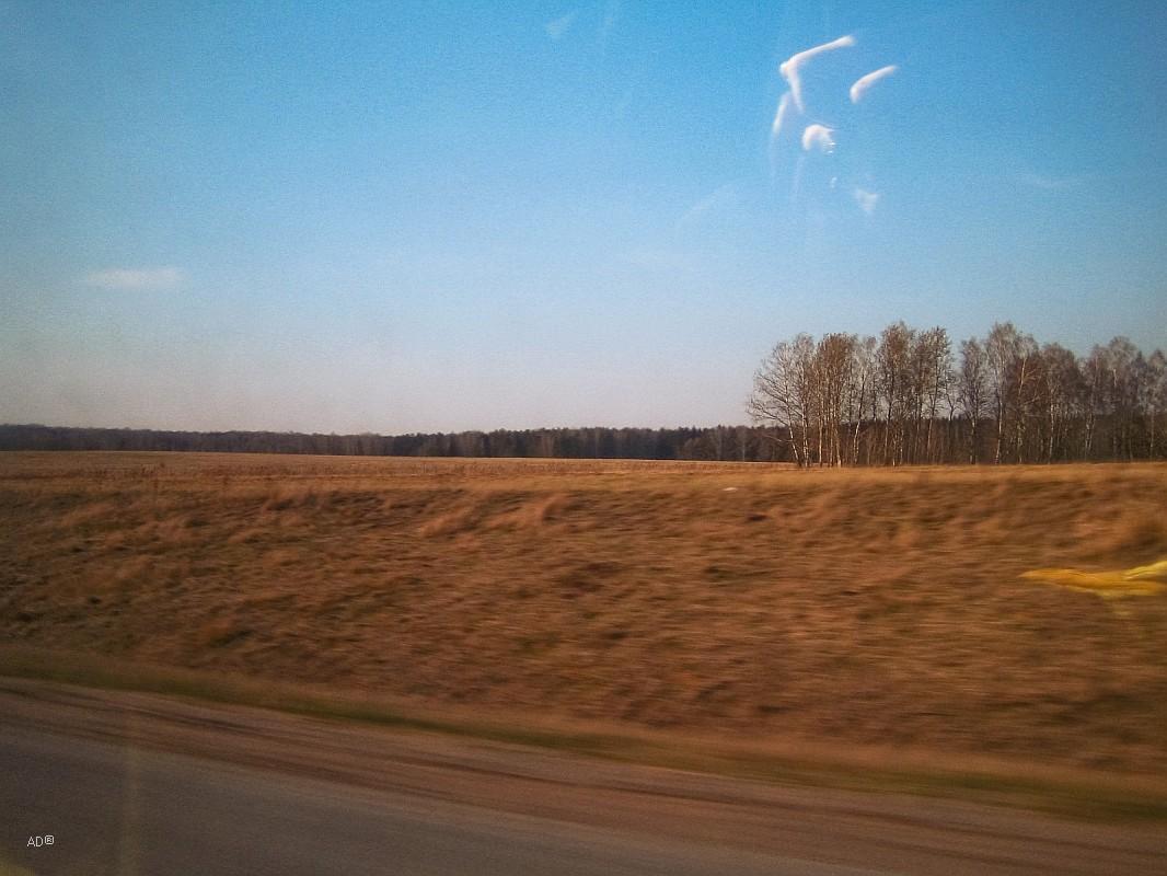 Дорога в Рязань