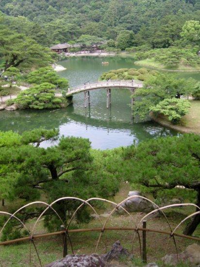 парк в японии