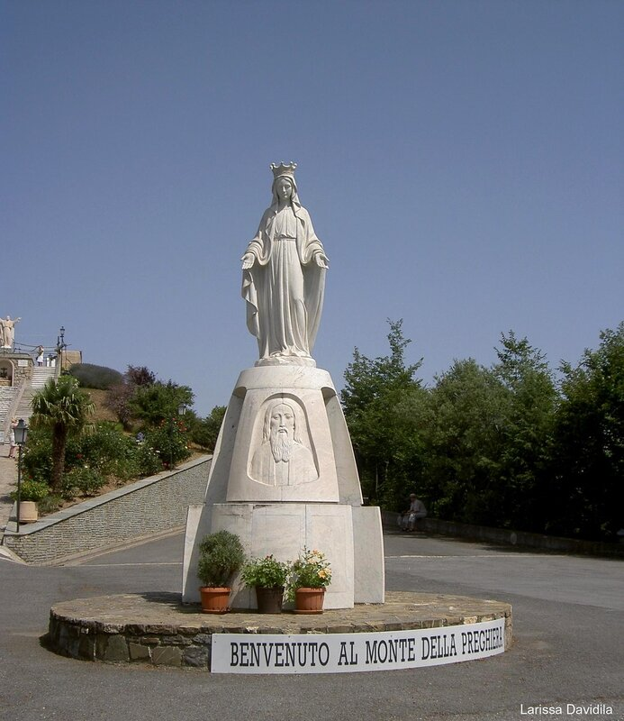 Место явления Пресвятой Девы Марии.