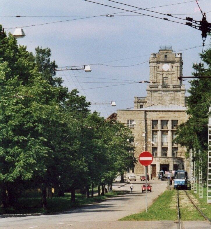 Бывшее заводоуправление Русско-Балтийского завода.