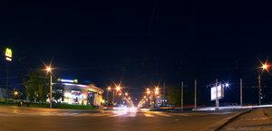 Городская кровь II город, Чебоксары, панорама, ночь