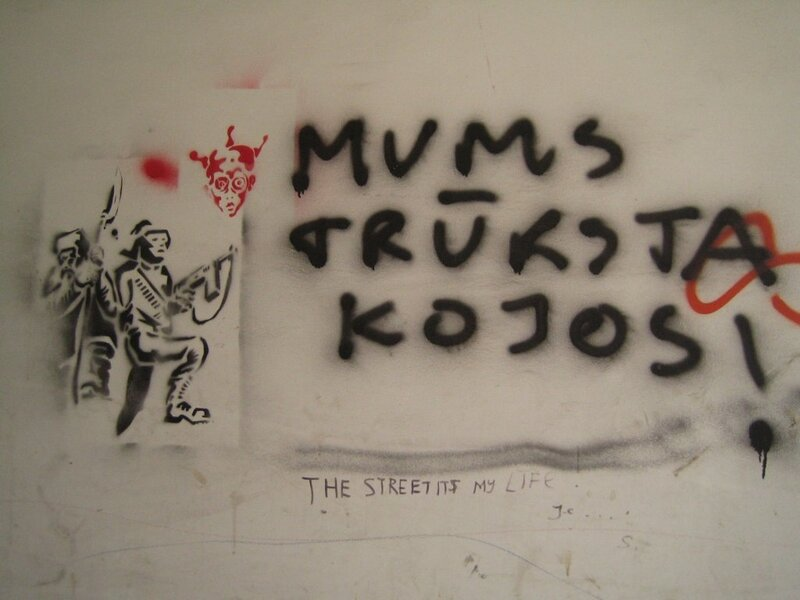 vilnius street art 2007-11-06