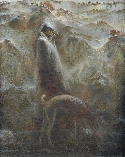 Гиви Сипрошвили, Охота, автопортрет
