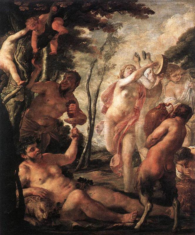 Жак Бланшар, 1636 г.Нанси (Франция), Музей прекрасных искусств, Вакханалия