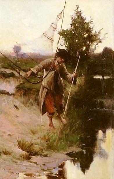 Аполоний Кедзиерский Рыбак 1897 г.