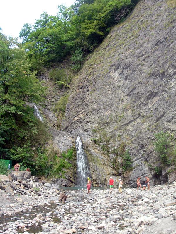 Каскад водопадов, photo foto fotki history россия адлер сочи кавказ кавказские горы пейзаж фото фотки апарышев