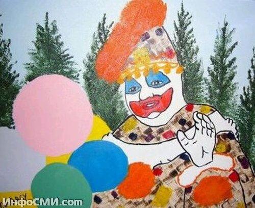 """Картины """"Клоуна-убийцы"""""""