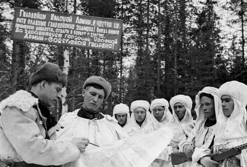 Фотографии Великой Отечественной Войны: 42-й год