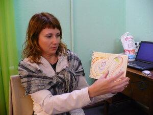 Инна                         Нефедовская на семинаре в Киеве