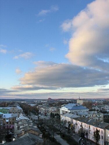 небо над моїм містом