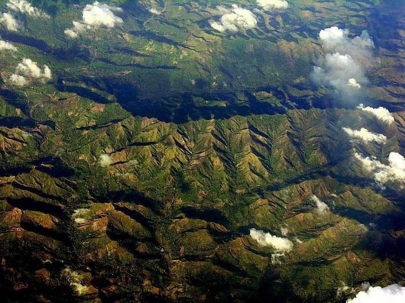Летим над Филиппинами 1