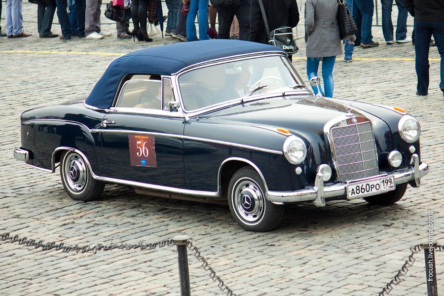 Mercedes-Benz 220S W180 Cabriolet