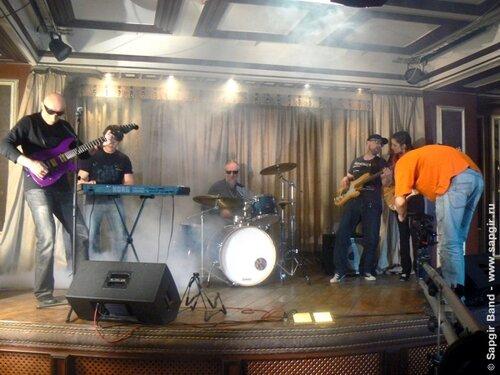 """Sapgir Band на съёмках клипа в ресторане """"Марсель"""" (Москва)"""