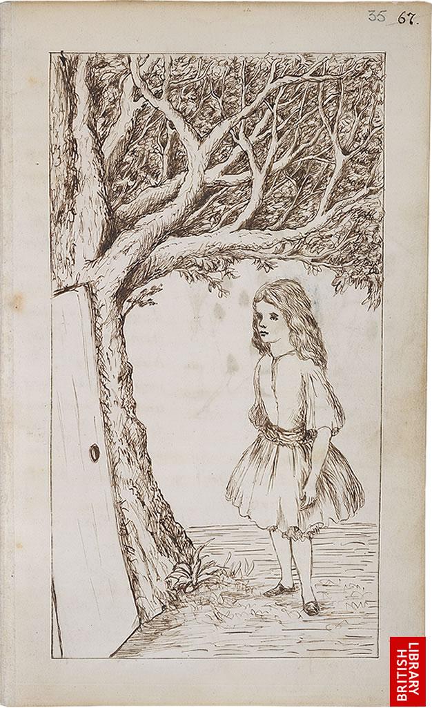 Алиса в стране Чудес Иллюстрации автора