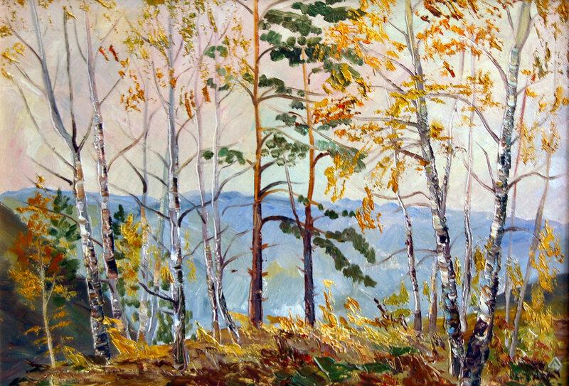 Осень на Змеинке