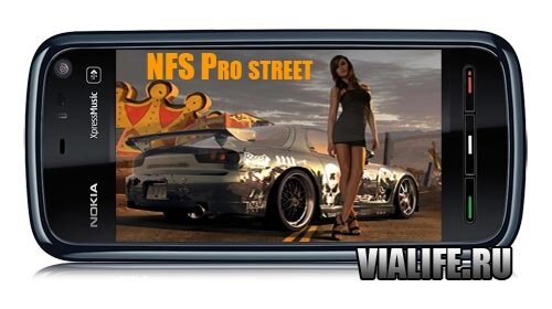 ���� NFS Pro street for NOKIA 5530, 5800, N 97