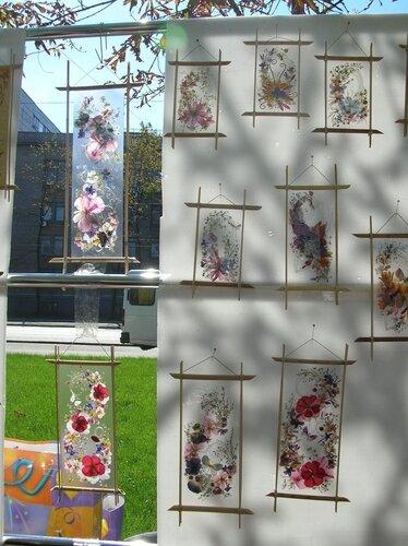 Набережная - Восхитительные композиции из засушенных цветов запаянные в прозрачном полотне-3