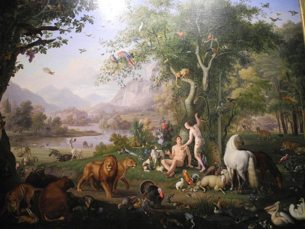 Секс адама и евы в раю видео