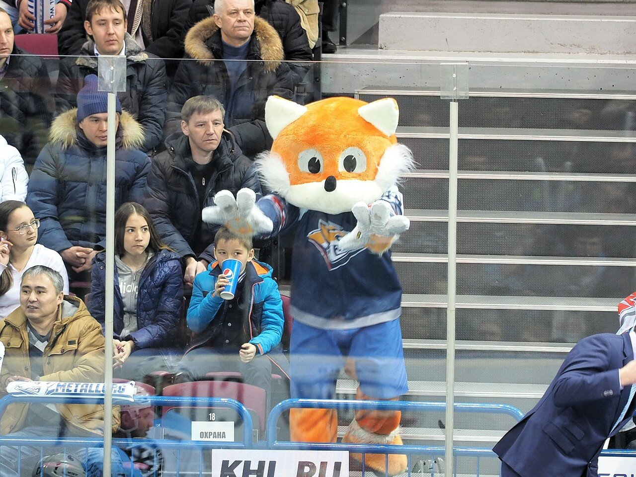 110Плей-офф 2016 Восток 1/2 Металлург - Сибирь 10.03.2016