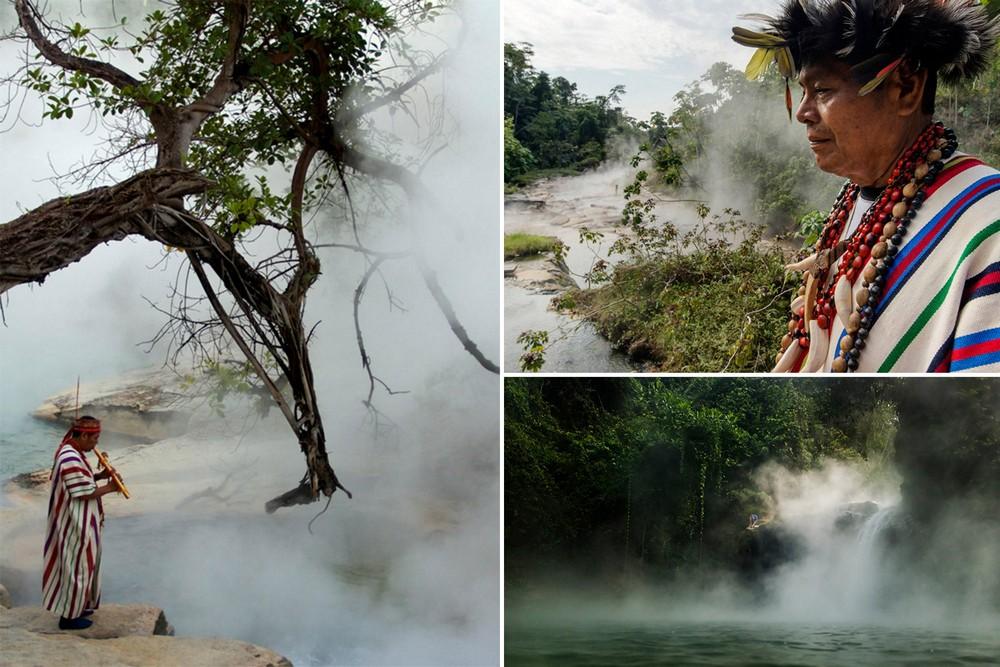 Кипящая река в амазонских джунглях, в которой можно свариться заживо