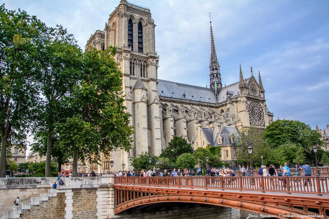 Собор Парижской Богоматери (Notre Dame de Paris)