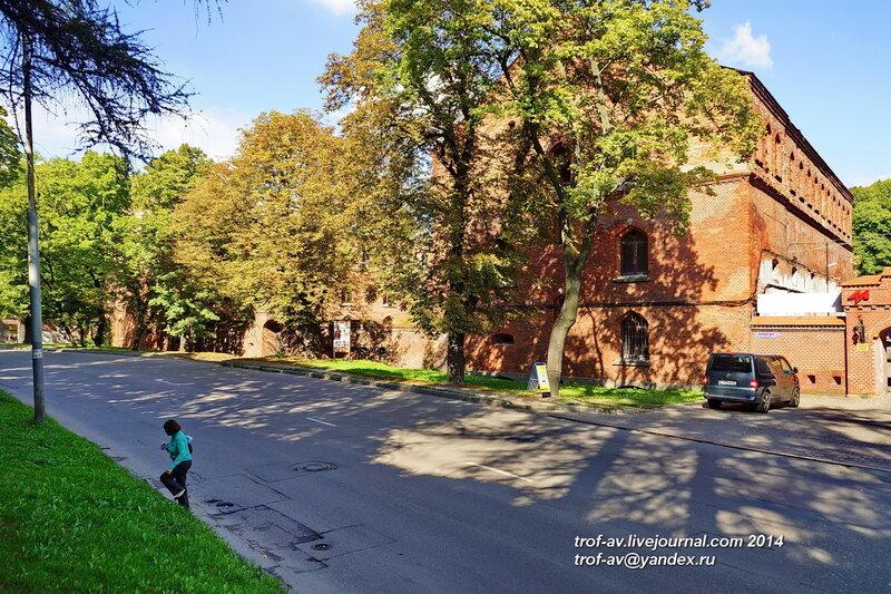 Редюит бастиона Грольман, Калининград