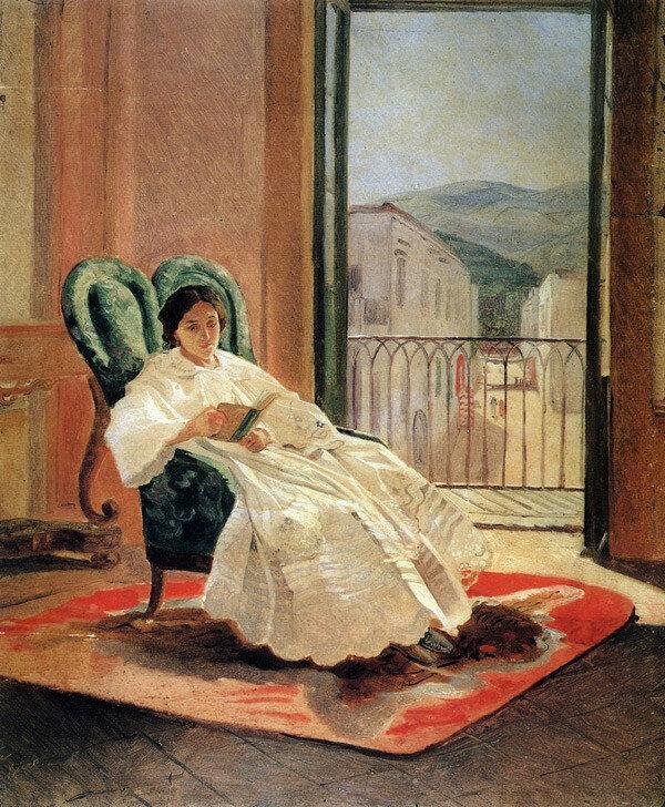 Портрет жены художника А.П.Ге. 1858..jpg