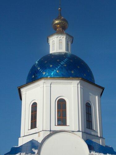 Малоярославец. Собор Казанской иконы Божией матери. Стиль барокко