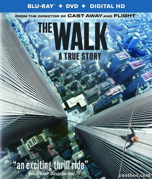 Прогулка / The Walk (2015/BD-Remux/BDRip/HDRip/3D)