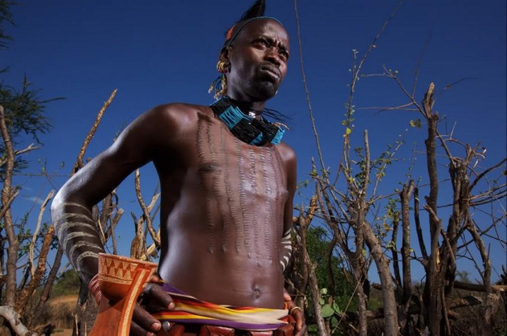 Нудистов фот племен африк
