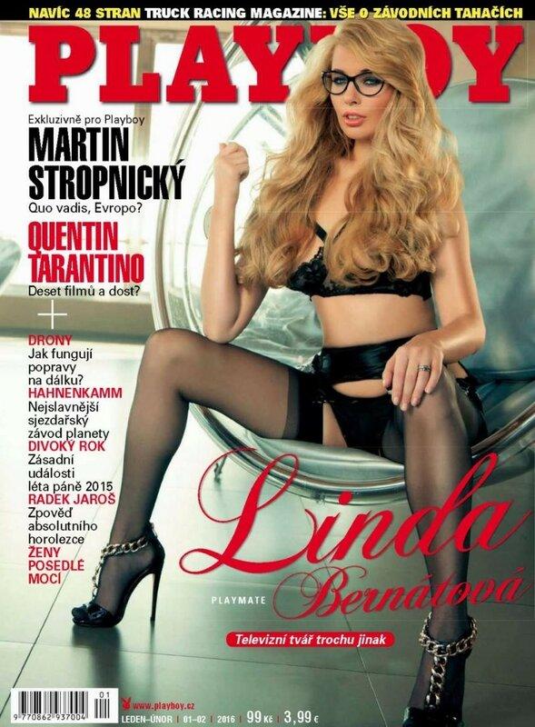 Linda Bernatova in Playboy