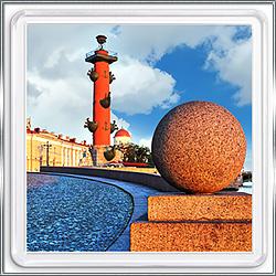 Магнит сувенирный Санкт-Петербург