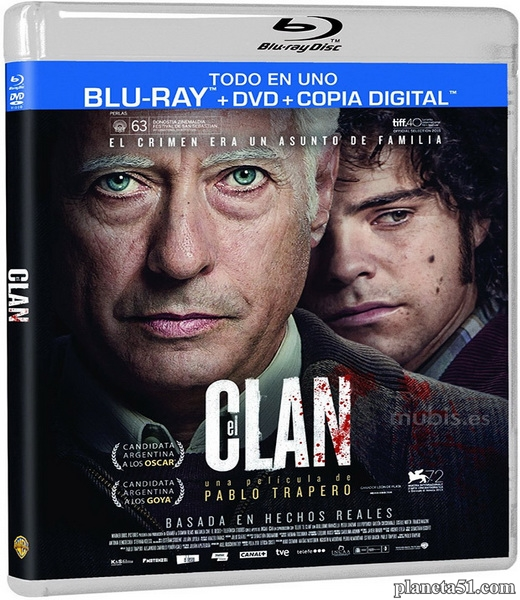Клан / El Clan (2015/HDRip)