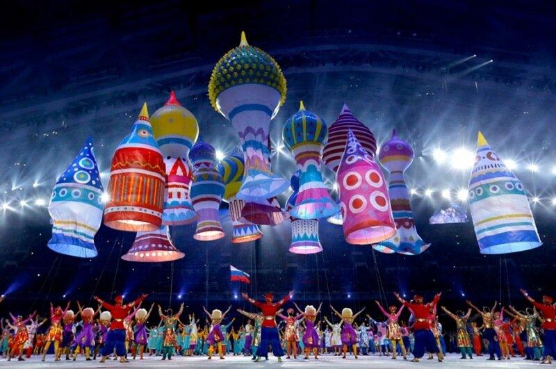 Художник открытия Олимпиады в Сочи   американец из Казахстана. Фотографии открытия