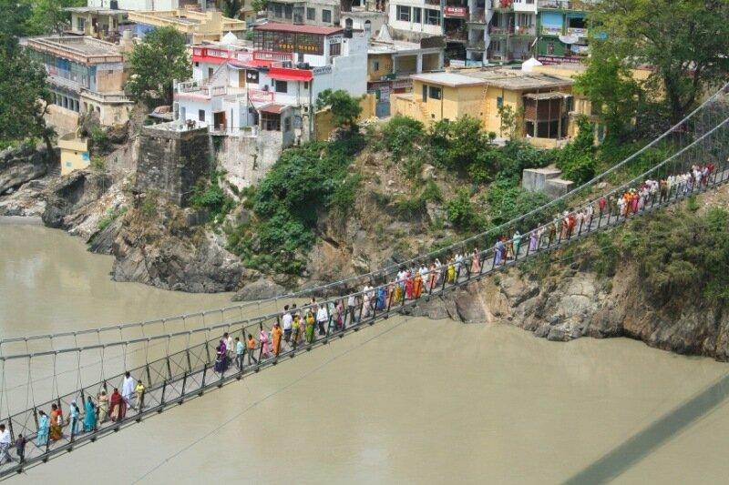 Мост в Индии, рассветы и закаты и другие фотографии Flickr